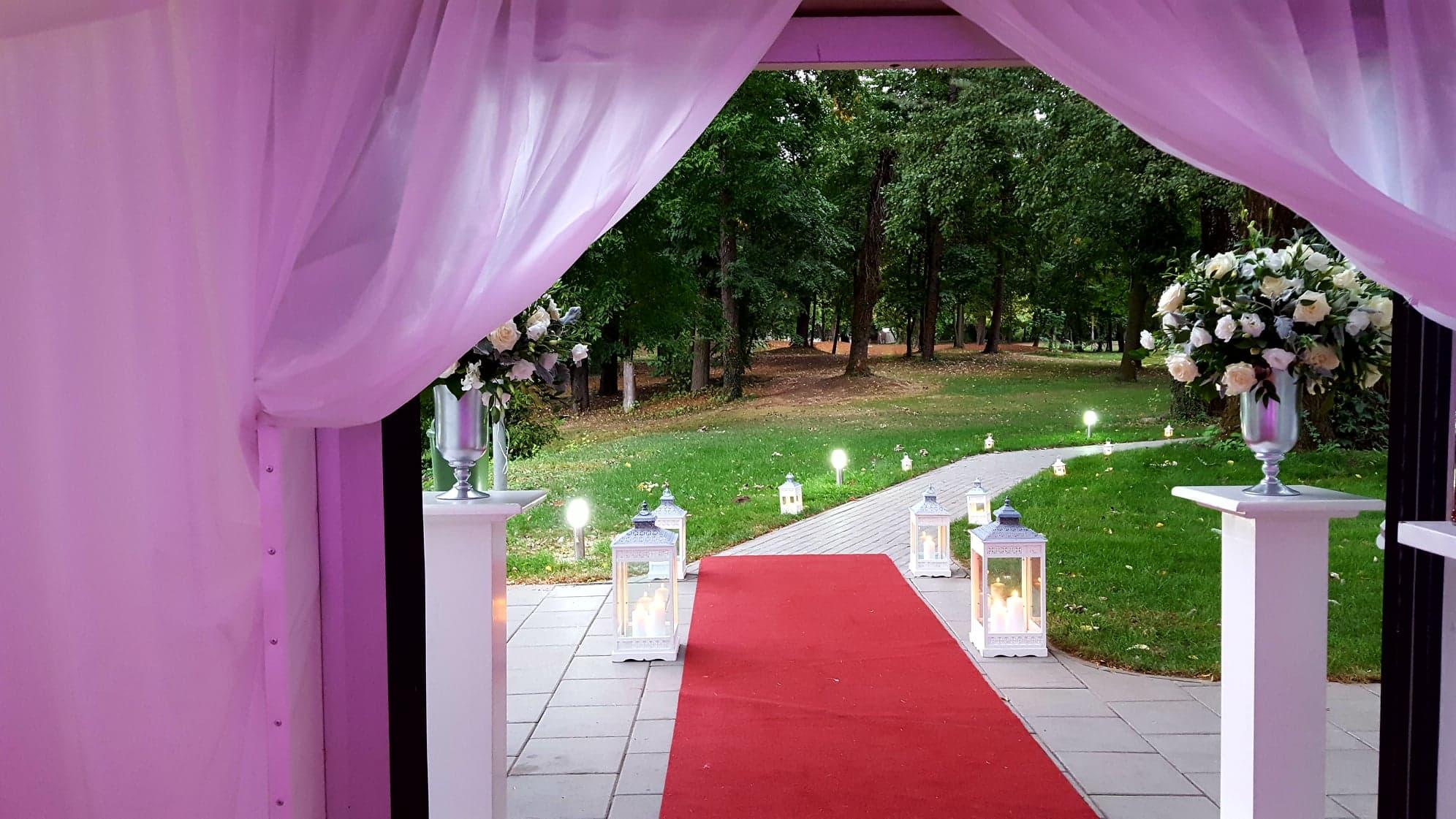 Decor felinare nunta - Event Designer - Joyful Colors