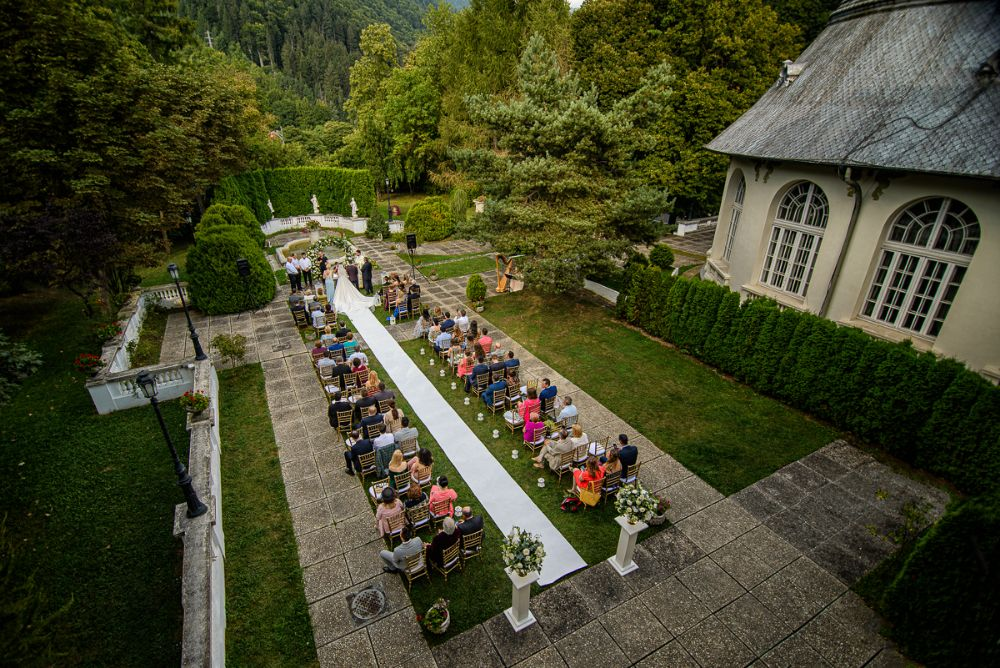 Felinare nunta Sinaia - Event Designer - Joyful Colors