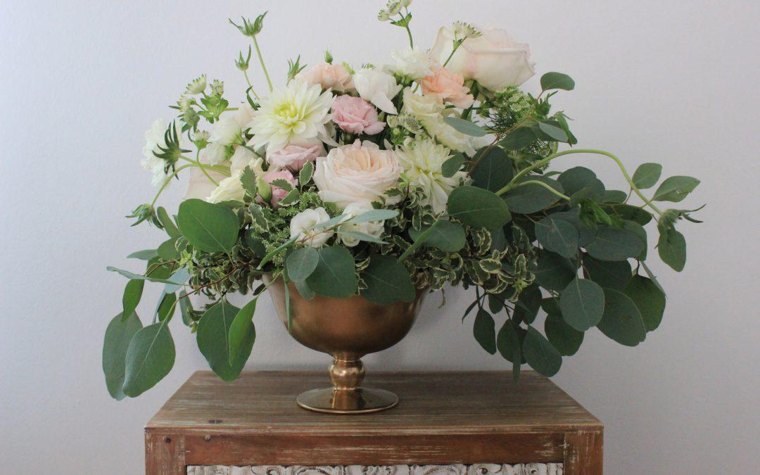 Nuntă romantică în culori pastelate