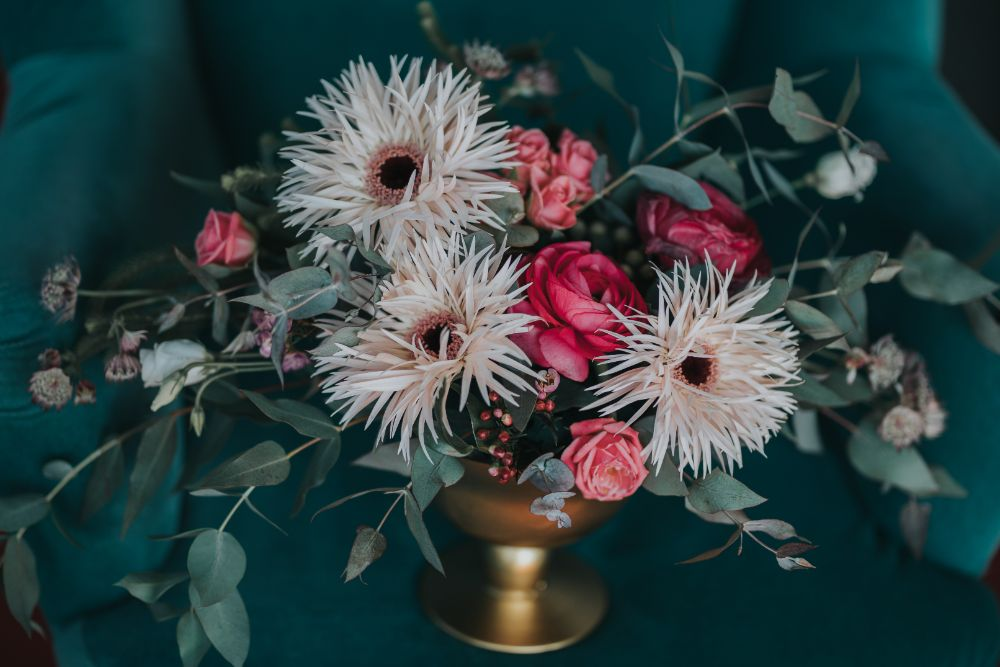 Aranjament floral nunta_Joyful Colors